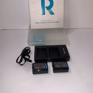 Battery Charger Set For Sony Camera for Sale in San Bernardino, CA
