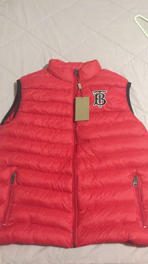 Burberry puffer vest for Sale in Tuscaloosa, AL