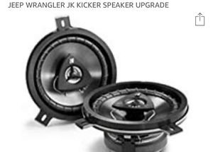 Jeep Wrangler JK audio system upgrade for Sale in Clearwater, FL