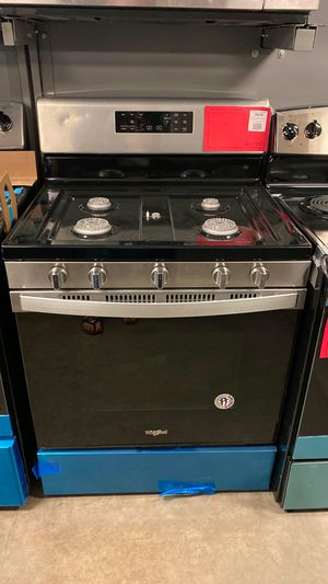 Brand NEW Whirlpool Stainless Steel Gas Range Stove Oven 1 Year Manufacturer Warranty for Sale in Gilbert, AZ