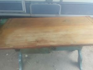 Farm house table with 2 benches for Sale in Payson, AZ