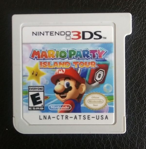 Nintendo 3DS Super Mario Party Island Tour