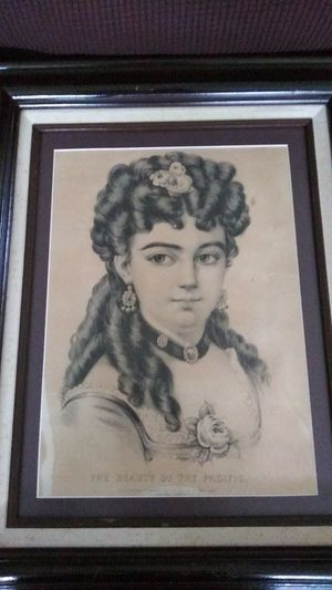 """Beautiful Very Rare Vintage picture with matted frame. """"The Beauty of the Pacific"""" for Sale in St. Petersburg, FL"""