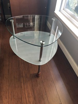 Modern Glass side table for Sale in Huntington Beach, CA