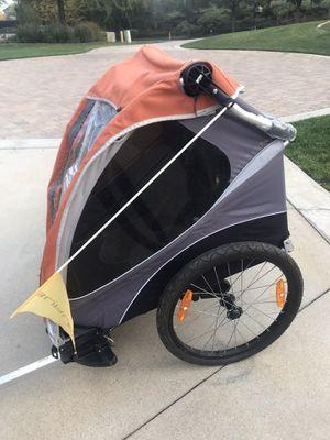 Burley D'lite double child bike attachment/stroller for Sale in Corona, CA
