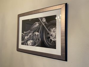 Z gallery bike painting for Sale in Plano, TX