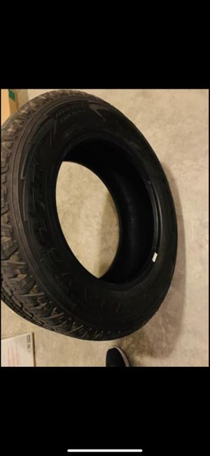 4 Goodyear Tires 265/60/R18 All Terrain with Kevlar for Sale in Harlingen, TX