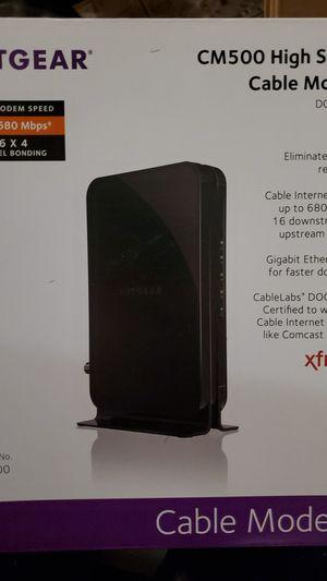Netgear CM500 for Sale in Houston, TX