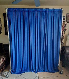 ⭐New set curtains $20 ⭐ size 11ftx11ft stand not for sale Good quality AVAILABLE ⭐⭐ for Sale in Fontana, CA