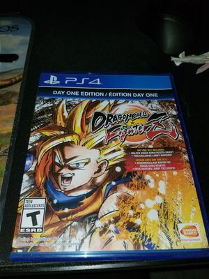 Dragonball FighterZ Ps4 for Sale in El Monte, CA