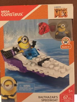 Mega construx minions universal studios LEGO style toy for Sale in Los Angeles, CA