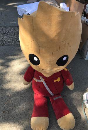 Disney Groot Large Stuffed Animal for Sale in Modesto, CA