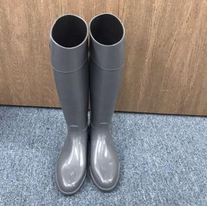 Armani Jeans color Grey Italian Rubber Over The Calf Rain Boots/Booties for Sale in Fontana, CA