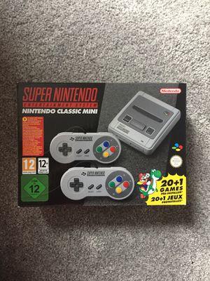 Nintendo SNES Classic Mini European Version for Sale in Atlanta, GA