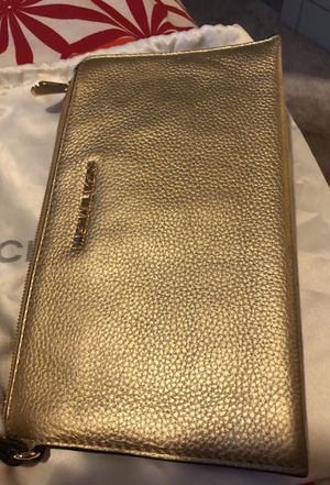 Michael Kors Gold Clutch bag for Sale in Seattle, WA