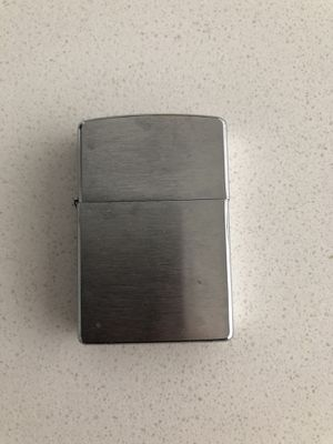Used Zippo lighter in good condition for Sale in Huntington Beach, CA
