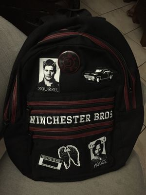 Supernatural Winchester bros logo laptop backpack for Sale in Diamond Bar, CA