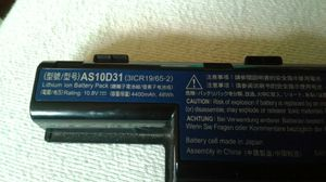 AS10D31 Laptop battery Dell others for Sale in Latrobe, PA
