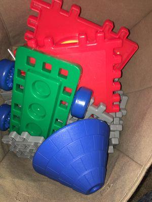 Kids building toys little tikes for Sale in Visalia, CA