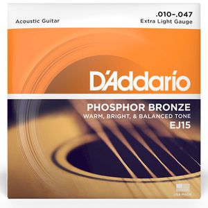 D'Addario EJ15 Acoustic Guitar Light Strings (Shippable) for Sale in San Diego, CA