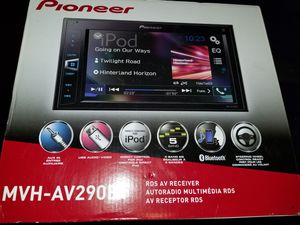 Pioneer touchscreen bluetooth car stereo. Aux, USB audio, iPod direct control, steering wheel control ready for Sale in Fresno, CA