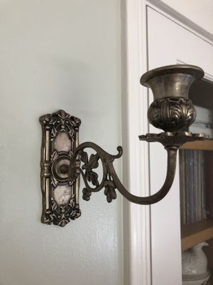 Pair Wall Wall Sconce Candle Holders, Candle Sconces for Sale in San Jose, CA