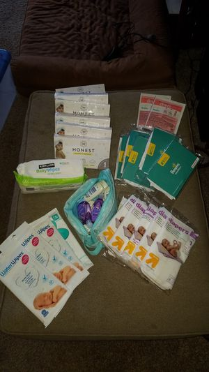 Infant essentials Diapers, wipes, detergent, soap for Sale in Minneapolis, MN