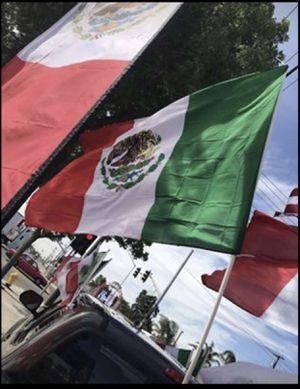 Banderas de mexico y de USA for Sale in Modesto, CA