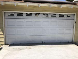 2 car garage door for Sale in Sylmar, CA