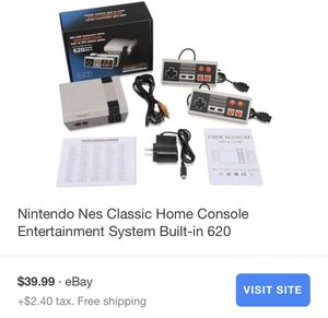 Nintendo console 620 games for Sale in Erie, PA
