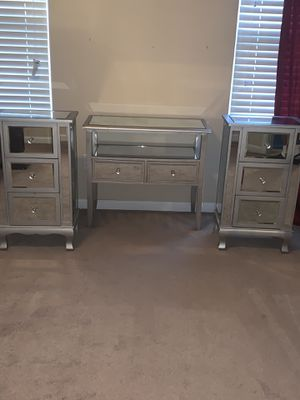 Mirrored 3pc Set for Sale in Rock Hill, SC