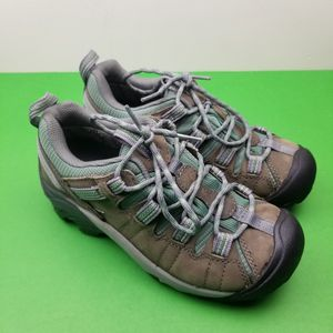 KEEN Targhee II Hiking TRAIL Shoes Black Olive/Mineral Blue Size 6 US Womens for Sale in Hephzibah, GA