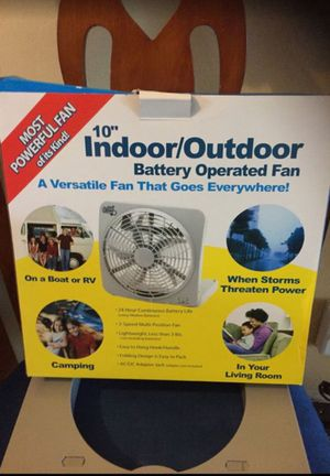 12 volt fan works great for Sale in South Miami, FL