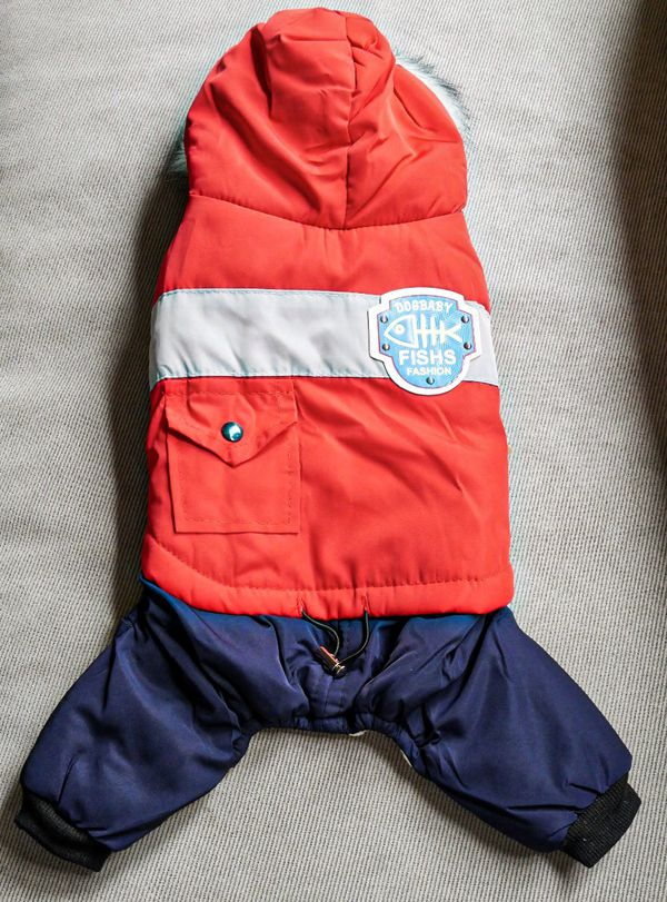 Little Fish Coat pets clothes dogs cats puppies