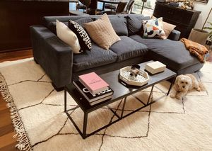 Coffee table black granite for sale for Sale in Beverly Hills, CA