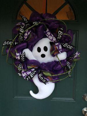 Halloween Ghost Wreath for Sale in Newport News, VA