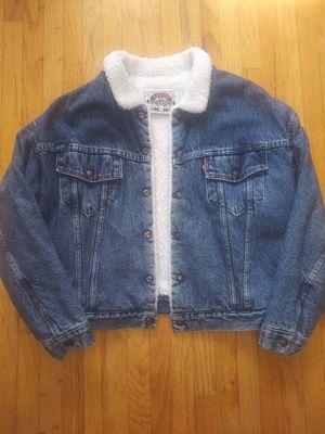 Vintage Levis Jacket Size Men's Large for Sale in San Jose, CA