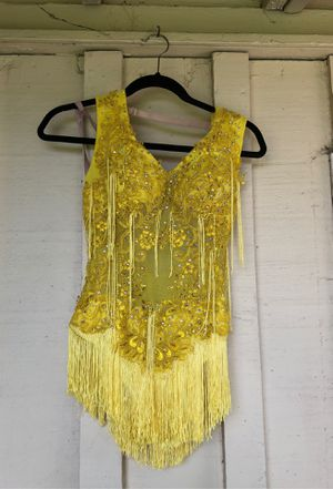 Salsa costume with hair appliqué for Sale in Tustin, CA