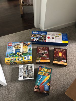 Games, puzzles, science experiments. Never opened. for Sale in Highland Beach, FL