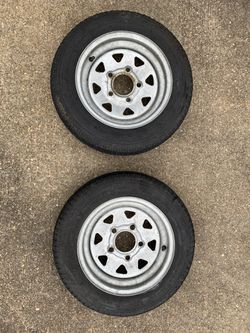 "Trailer tires 4.8 X 12"" for Sale in Autaugaville,  AL"