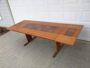 Danish teak drop leaf dining room table for Sale in Duluth, GA
