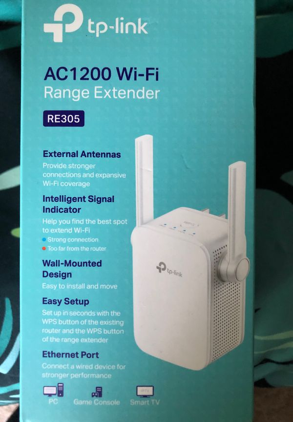TP-Link AC1200 RE305  High Speed Dual Band WiFi Range Extender for Sale in  Minneapolis, MN - OfferUp