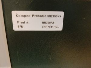 Compact Presario Desktop Computer with monitor for Sale in Shelbyville, TN