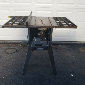 Sears Craftsman 113 Table Saw 3hp for Sale in Cohasset, MA