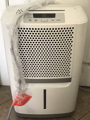 Frigidaire - 70-Pint Dehumidifier - White for Sale in San Bernardino, CA