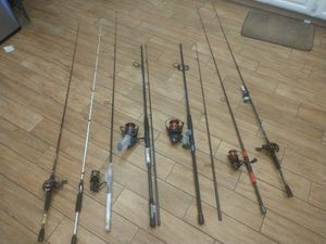 Fishing rods and reels for Sale in Peoria, AZ