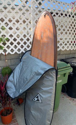Wood grain hybrid fun board surfboard for Sale in Los Angeles, CA