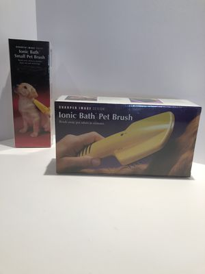 Sharper Image Ionic Pet Brushes for Sale in Palm Desert, CA