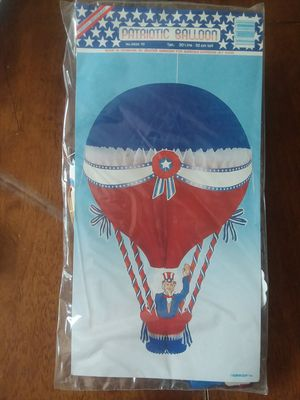 6 patriotic hot air balloon decorations for Sale in Camp Hill, PA
