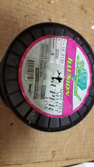8lb braid fishing line almost 3000 yrds for Sale in Houston, TX
